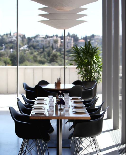 The Modern restaurant at the Israel Museum offers contemporary, inspired and original Jerusalemite cuisine
